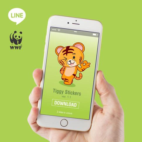 WWF LINE Stickers
