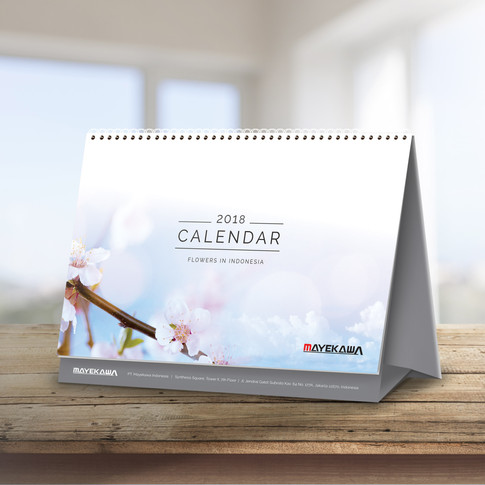 Mayekawa Calendar 2018