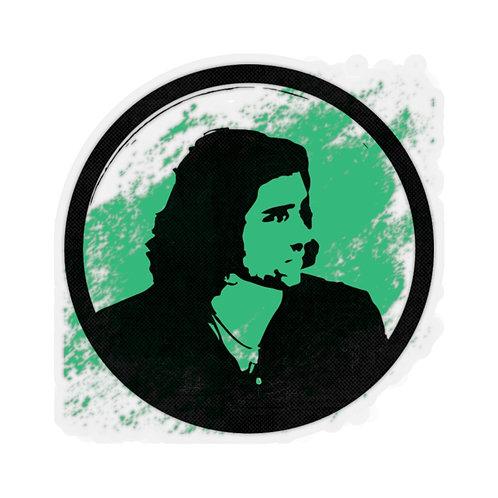 Green Black Kiss-Cut Stickers