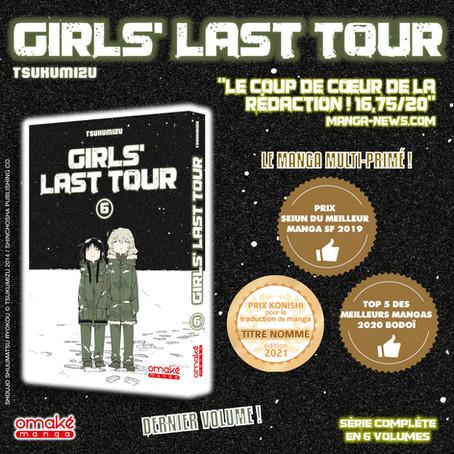 Girls' Last Tour atteint sa conclusion !