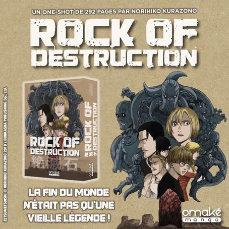 Rock of Destruction s'annonce !!