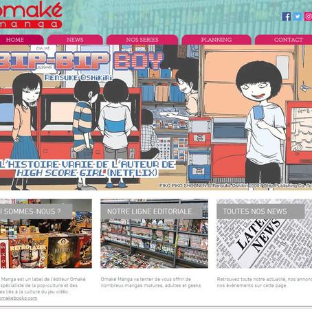 Un site pour Omaké Manga