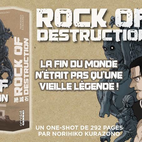 Rock Of Destruction est disponible!