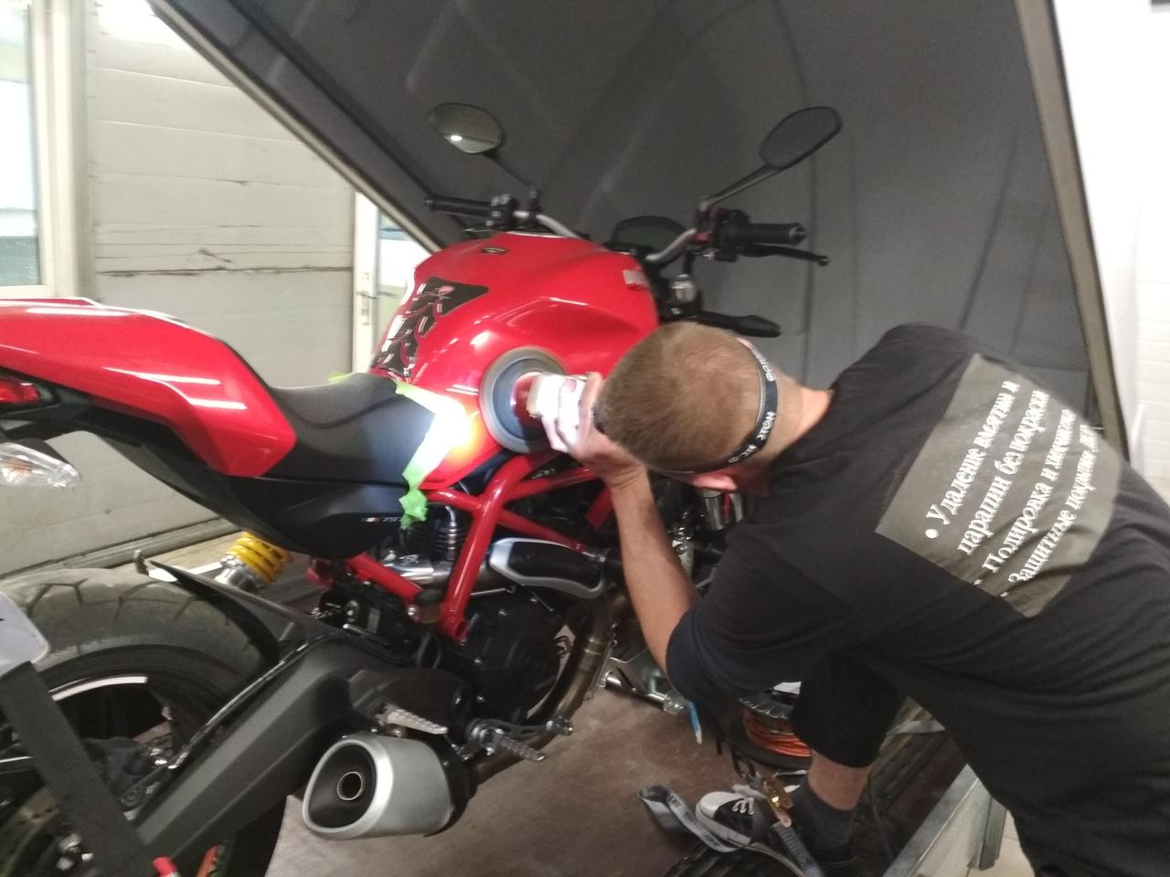 Полировка мотоциклов