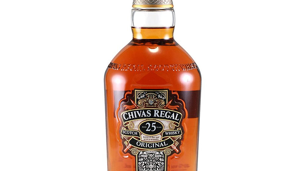 Chivas Regal 25 Year Old Whisky 70cl
