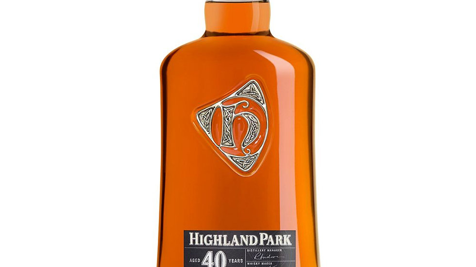 Highland Park 40 Year Old Whisky 70cl
