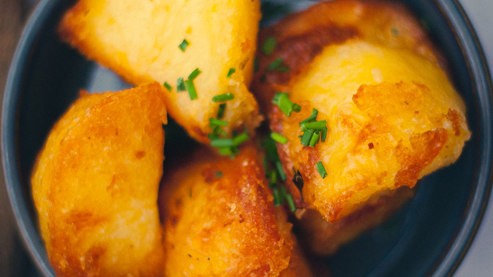Duck Fat & Thyme Roasted Potatoes