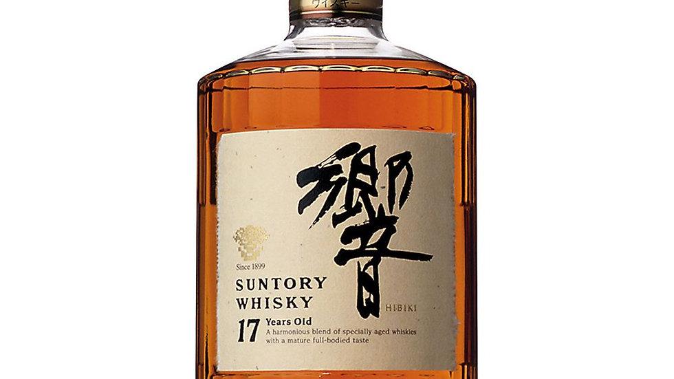 Suntory Hibiki 17 Year Old Whisky 70cl