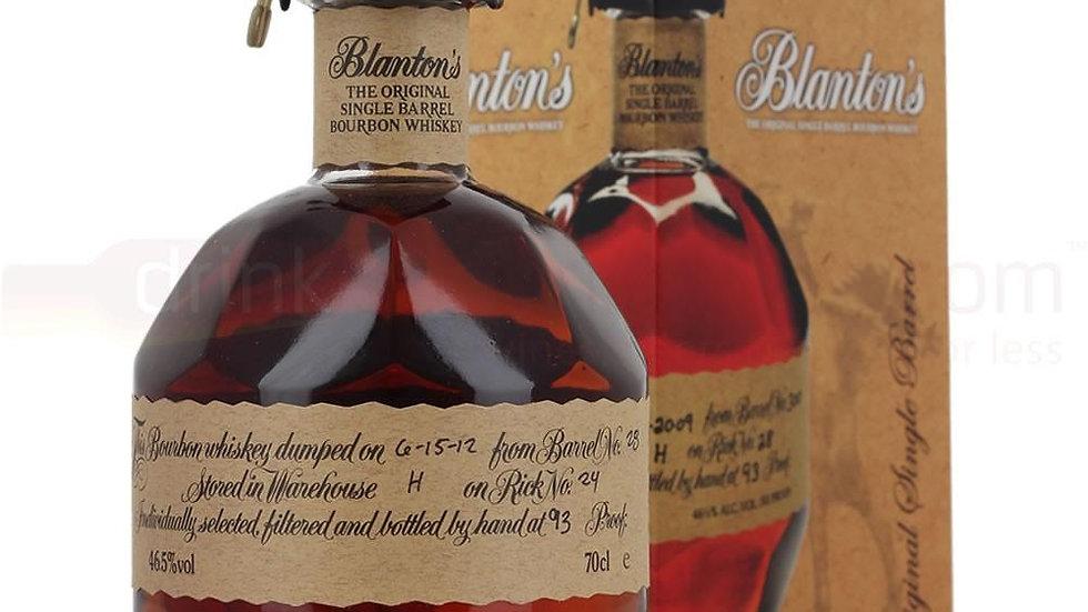 Blantons Original Single Barrel Whisky 70cl