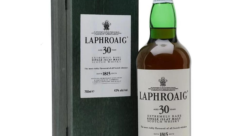 Laphroaig 30 Year Old Whisky 70cl