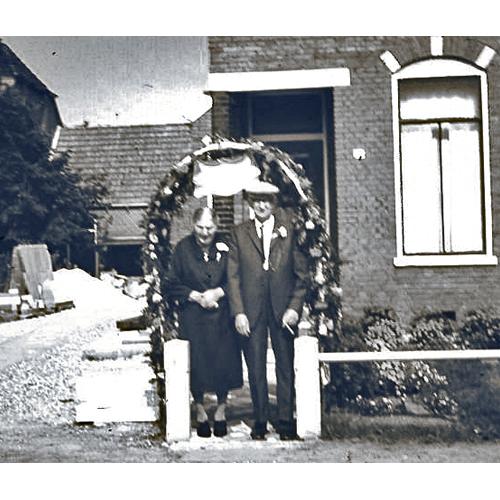Arend Hiepko en Klasien 60 jaar getrouwd
