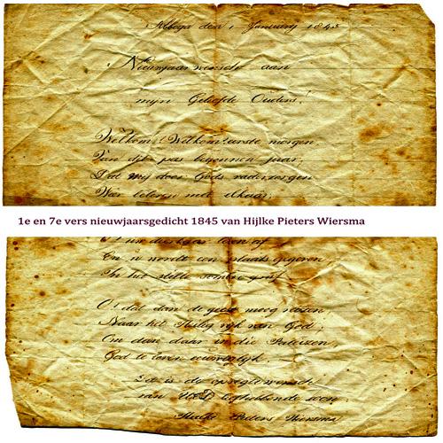9009 Uittreksel gedicht 1845-001