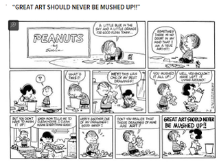 Great Art should never be mushed...