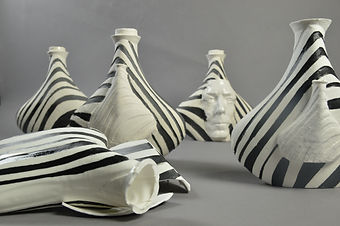 ceramic models using 3d printed moulds