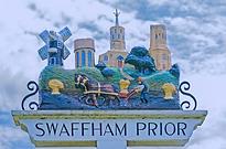 Swaffham Prior Village sign