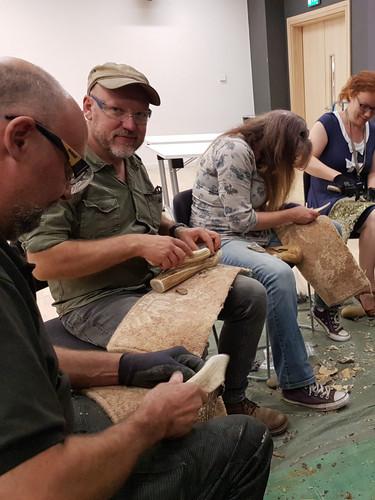 Flint knapping workshop