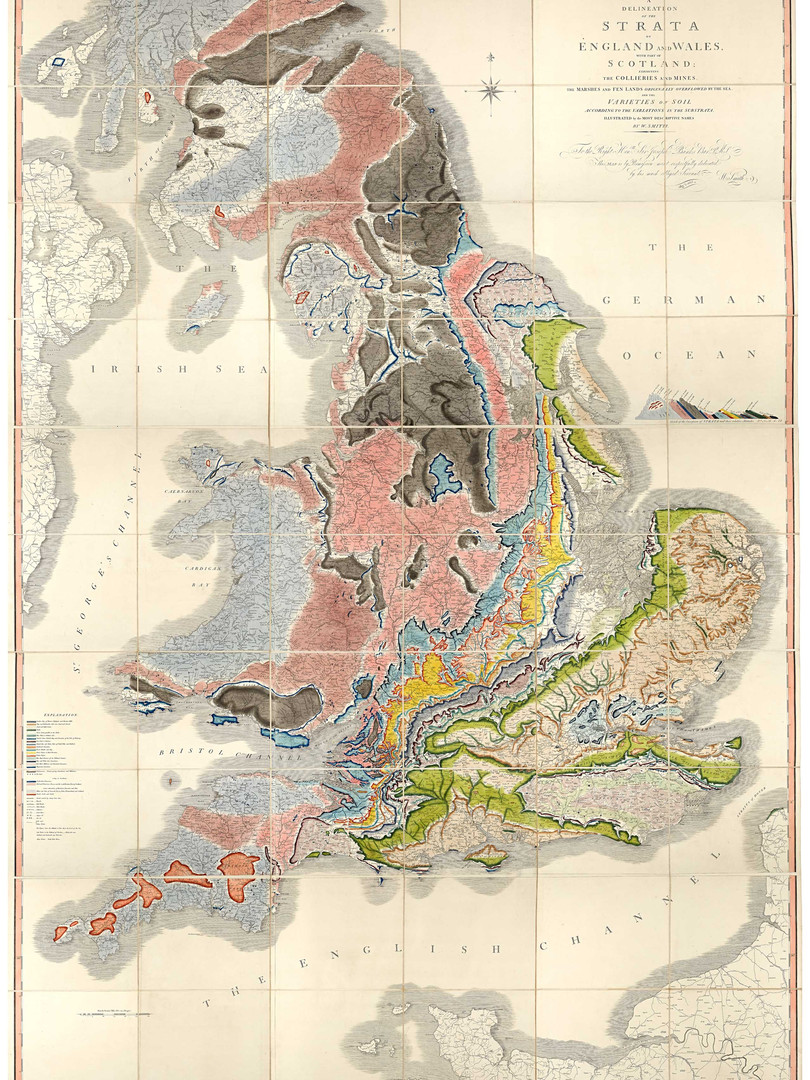 The William Smith Geology Map (1815)