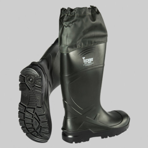 Techno Boots Troya Haki