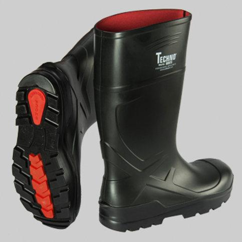 Techno Boots Troya Siyah