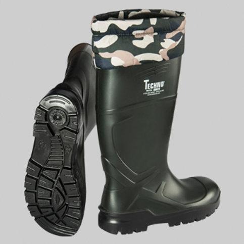 Techno Boots Troya Kamuflaj Detaylı