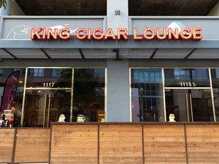 King Cigar Lounge Terrace