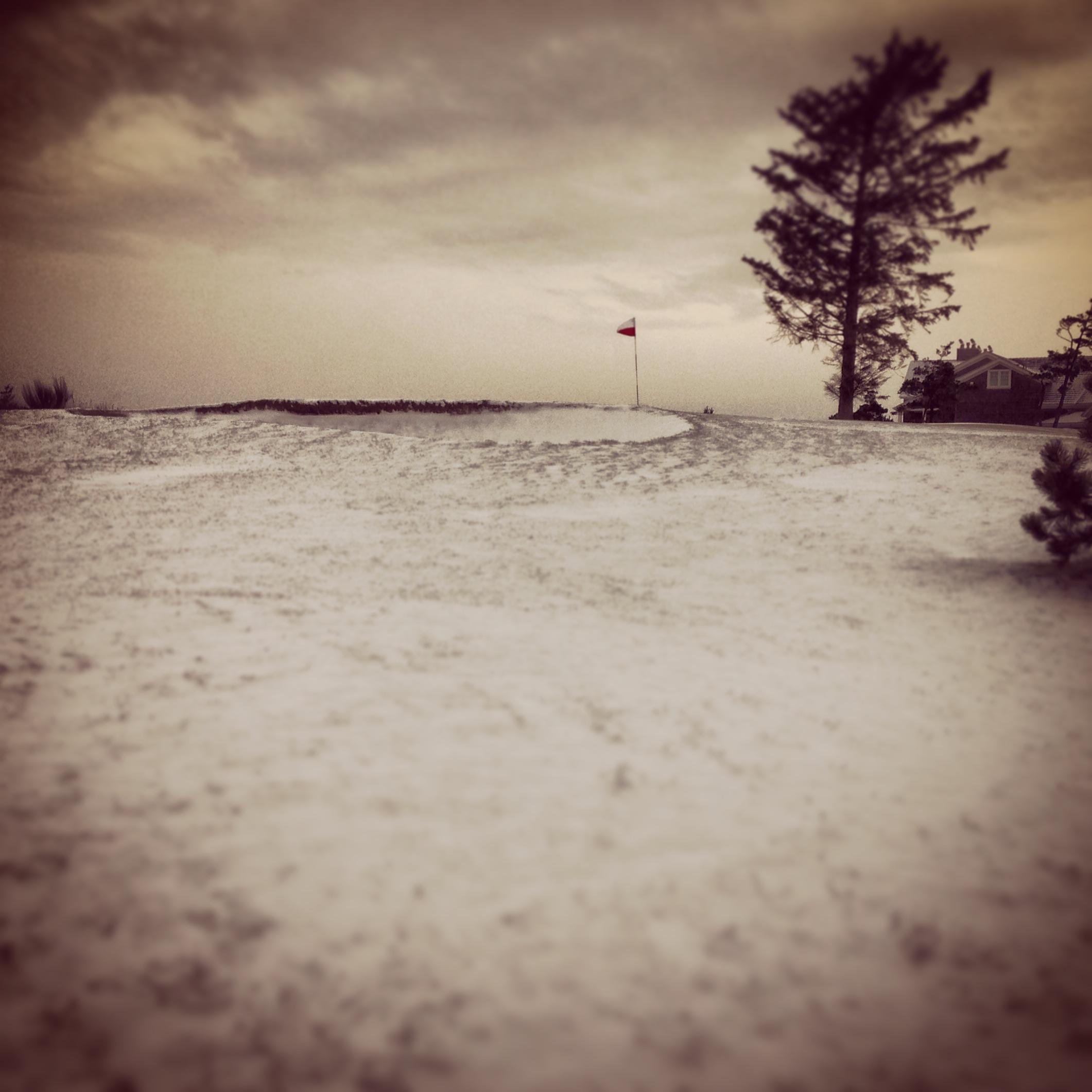 Snow at the Oregon Coast?