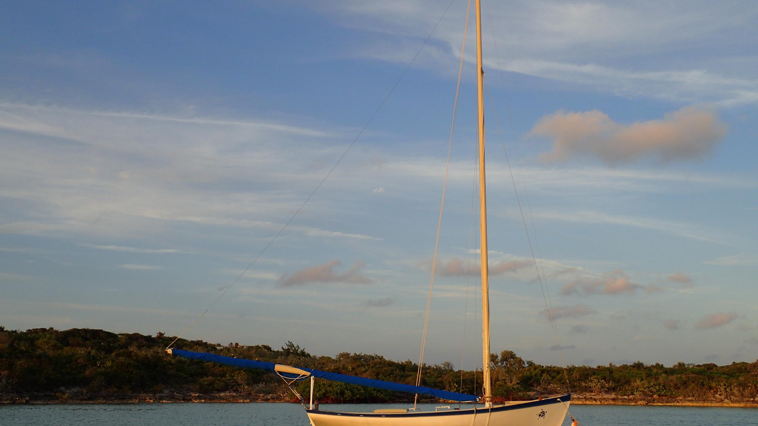 Bahamian racing sloop