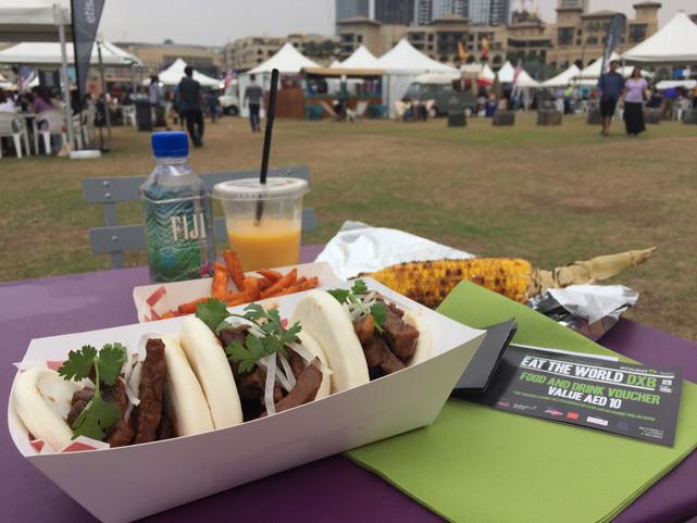 #EatTheWorldDXB Experience + HRH Prince Hamdan