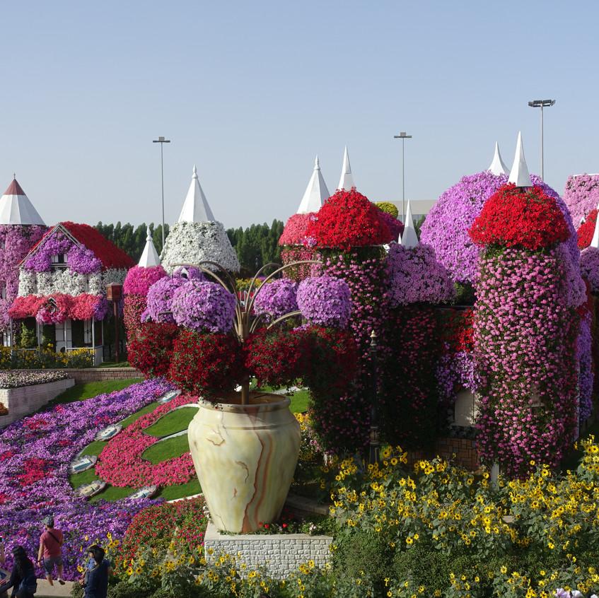 Floral Castles