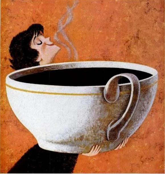 I will definitely miss coffee. Sigh.
