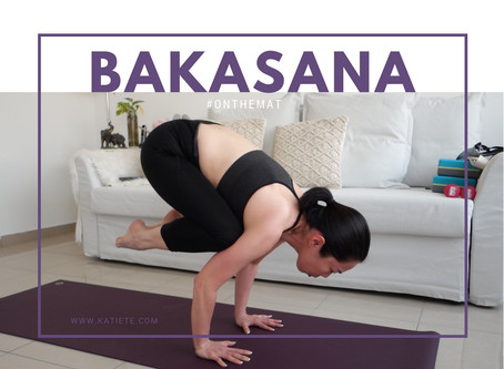 Video | Bakasana Journey #onthemat