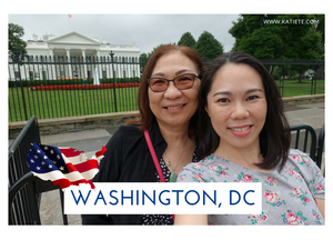 @ the White House with my sister