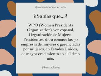 Empresas lideradas por mujeres que han crecido en el último año