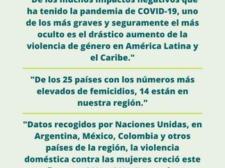 La violencia de género, la otra pandemia que debemos combatir en América Latina y el Caribe