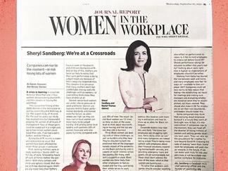 Sheryl Sandberg: Estamos en una encrujida