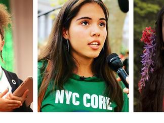 5 mujeres jóvenes y niñas que luchan por la justicia climática que debes conocer