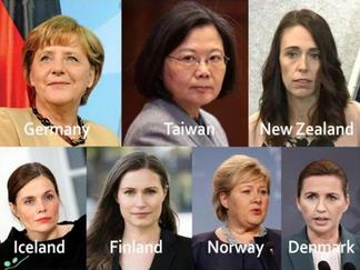 ¿Qué tienen en común los países con las mejores respuestas de coronavirus? Mujeres lideresas