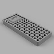 """grey"" Sample Bed"