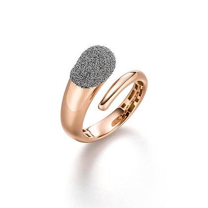 Ring mit Diamantstaub