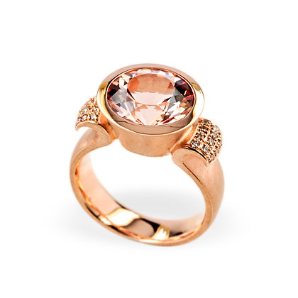 Morganit Ring