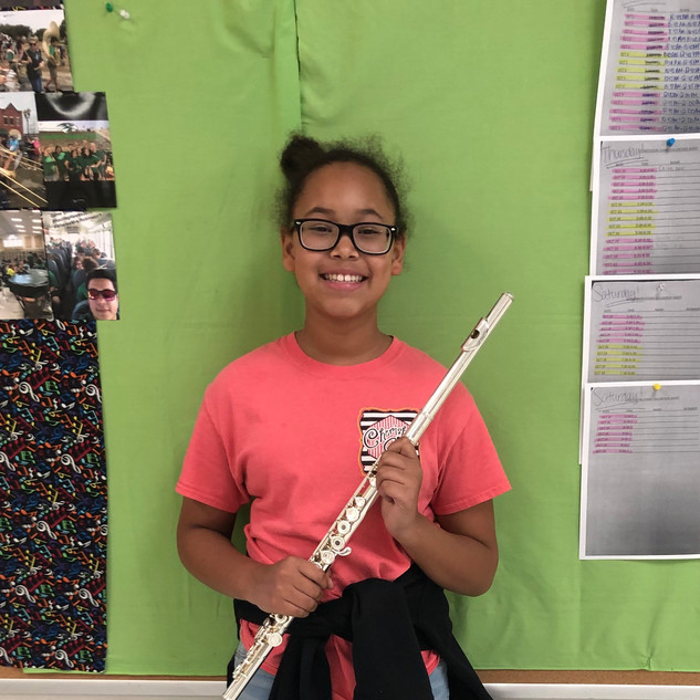 Musician of the Month Woodwinds