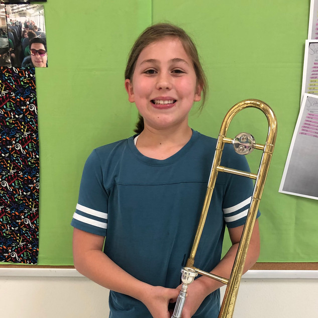 September Musician of the Month Brass Cl