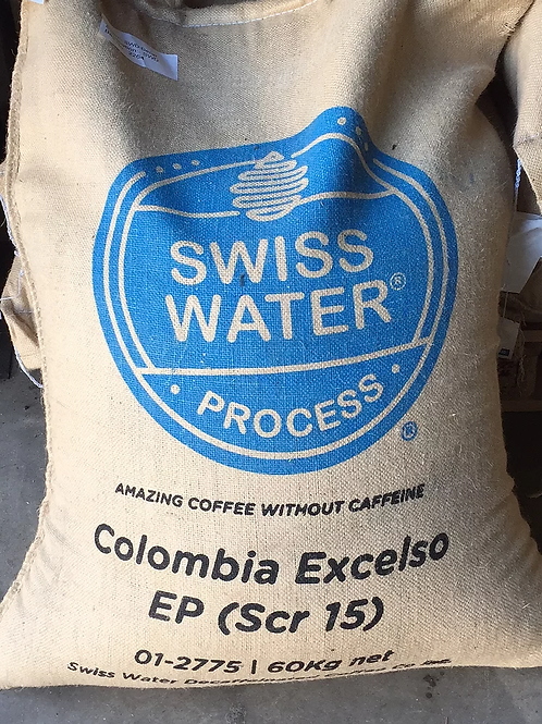 Raw Green Colombian Excelso SWD