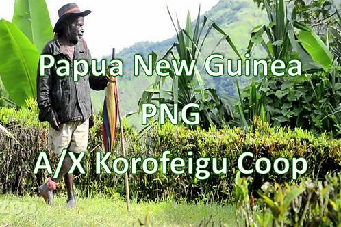 Raw Green Papua New Guinea A/X Korofeigu Coop