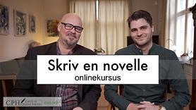 Undervisere på onlinekursus i at skrive noveller