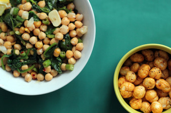 Chickpea Healthy Snack Addition