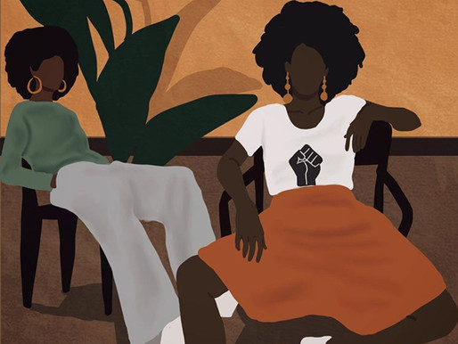 Nawaal Illustrates the strength of black females in South Africa