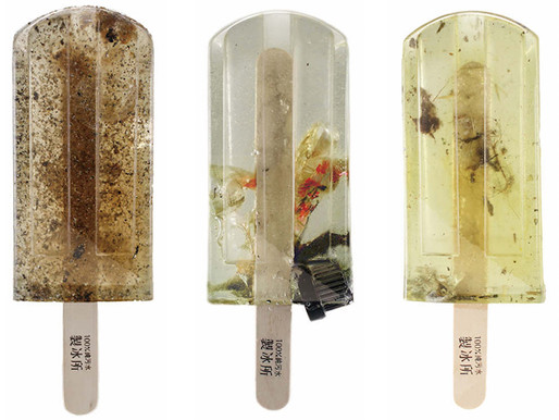 '100% Polluted Water Popsicles'