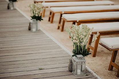 Beach wedding details☀️ #weddingdetails