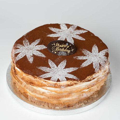 SEA SALT CARAMEL CREPE CAKE